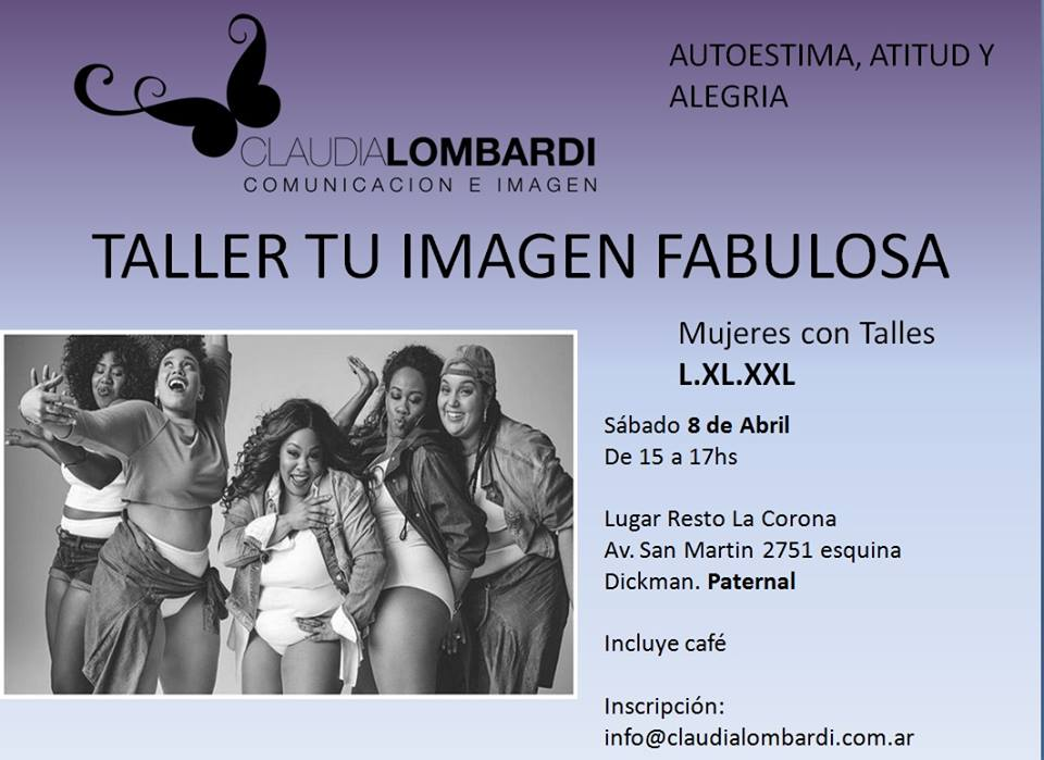 Evento Mujeres fabulosas